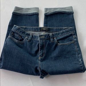 Talbots Rolled Crop Jeans Size 10P